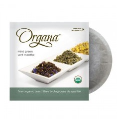 Organa Mint Green 18 Organic Tea Pods