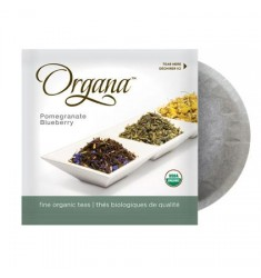 Organa Pomegranate Blueberry Flavour Tea Pods