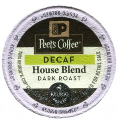 Peet's Coffee Decaf House Blend Coffee