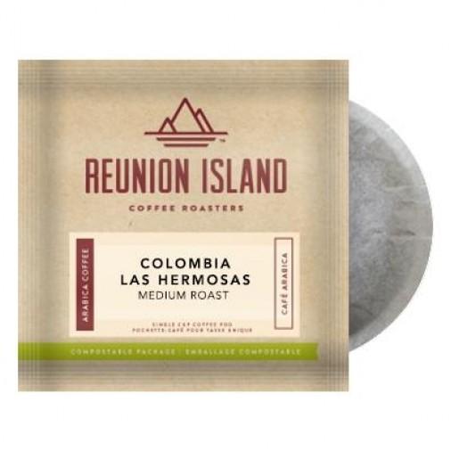 Reunion Island Colombia Las Hermosas Coffee Pods