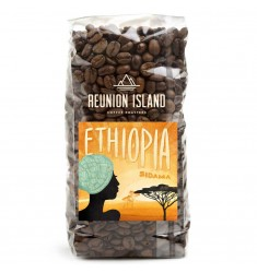 Reunion Island Organic Ethiopia Sidama Whole Bean Coffee