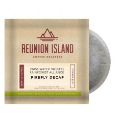 Reunion Island Firefly Decaf Coffee Pods