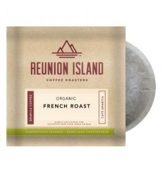 Reunion Island Organic French Roast Coffee Pods