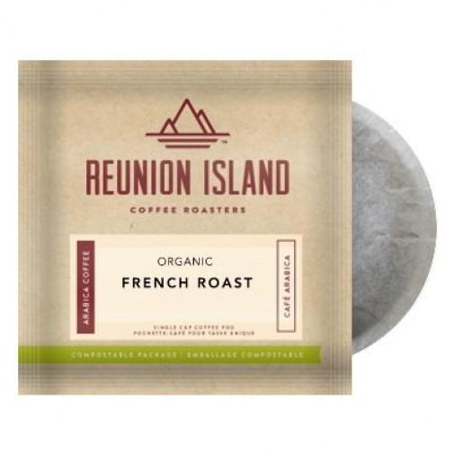 Reunion Island Organic French Roast Coffee Pods