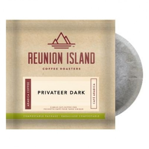 Reunion Island Privateer Dark Coffee Pods
