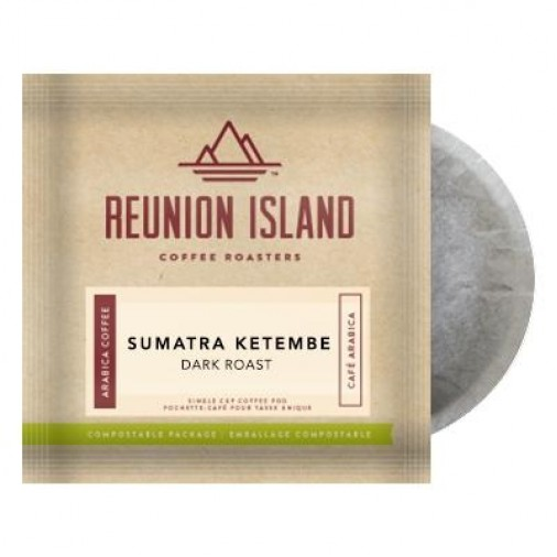 Reunion Island Sumatra Ketambe Coffee Pods