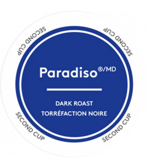 Second Cup Paradiso Dark Coffee