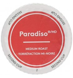Second Cup Paradiso Medium Coffee