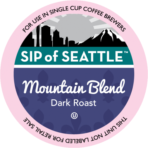 Sip of Seattle Mountain Blend Coffee