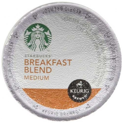 Starbucks Breakfast Blend, Single Serve Coffee