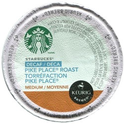 Starbucks Decaf Pike Place, Single Serve Coffee