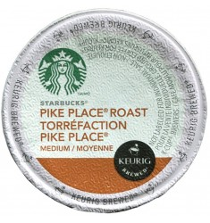 Starbucks Pike Place, Single Serve Coffee