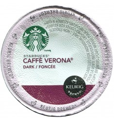 Starbucks Verona, Single Serve Coffee