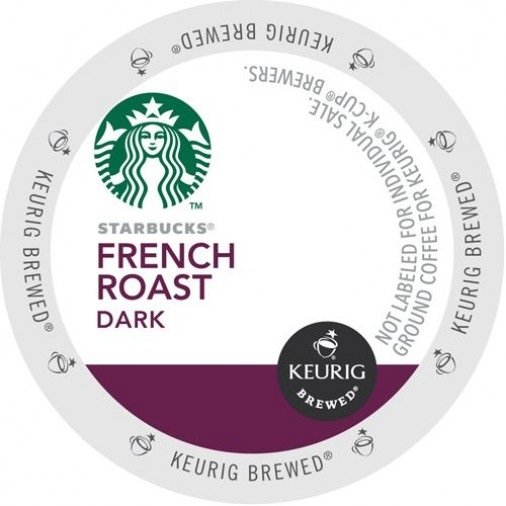 Starbucks French Roast, Single Serve Coffee