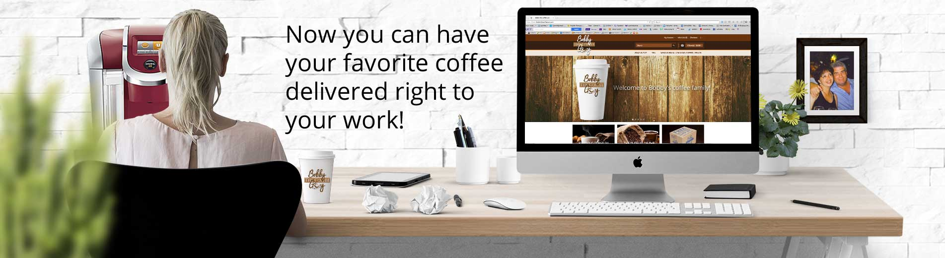 Order coffee and tea online