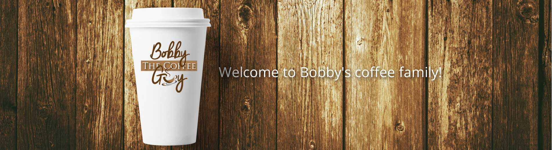 Bobby the Coffee Guy
