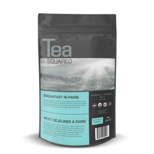 Tea Squared Breakfast in Paris Loose Leaf Tea (80g)