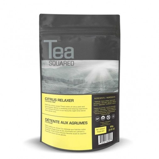 Tea Squared Citrus Relaxer Loose Leaf Tea (80g)