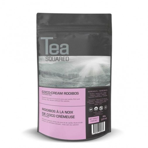 Tea Squared Coco-cream Rooibos Loose Leaf Tea (80g)