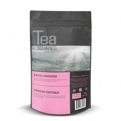Tea Squared Exotic Paradise Loose Leaf Tea (60g)