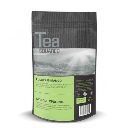 Tea Squared Luscious Mango Loose Leaf Tea (80g)
