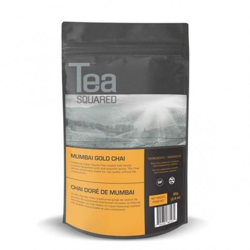 Tea Squared Mumbai Gold Chai Loose Leaf Tea (80g