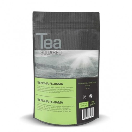 Tea Squared Sencha Fujiama Loose Leaf Tea (80g)