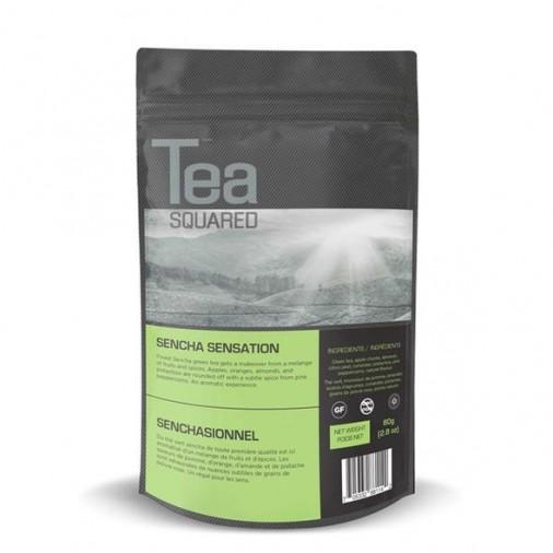 Tea Squared Sencha Sensation Loose Leaf Tea (80g)