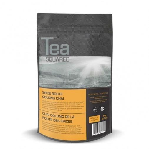 Tea Squared Spice Route Oolong Chai Loose Leaf Tea (80g)