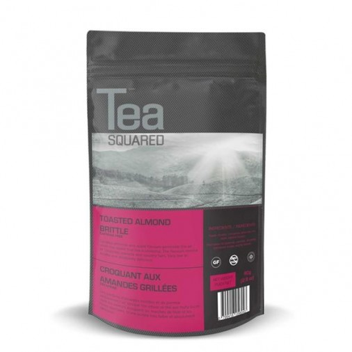 Tea Squared Toasted Almond Brittle Loose Leaf Tea (80g)