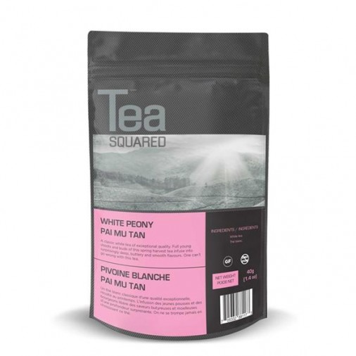 Tea Squared White Peony Pai Mu Tan Loose Leaf Tea (40g)