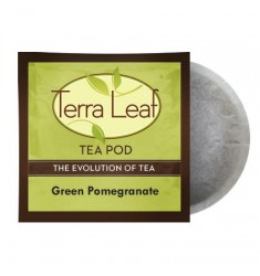 Terra Leaf Green Pomegranate Tea Pods