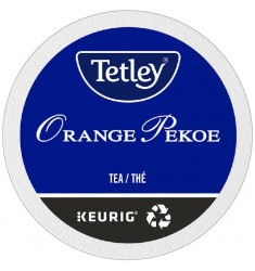 Tetley Orange Pekoe Tea,  Single Serve Tea