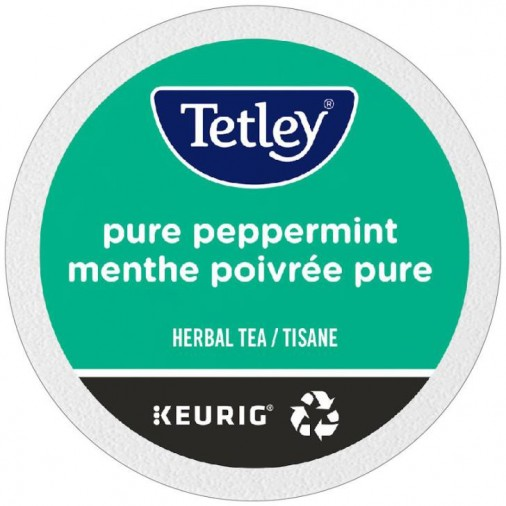 Tetley Pure Peppermint Tea,  Single Serve Tea