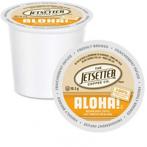 Jetsetter Aloha, Single Serve Coffee