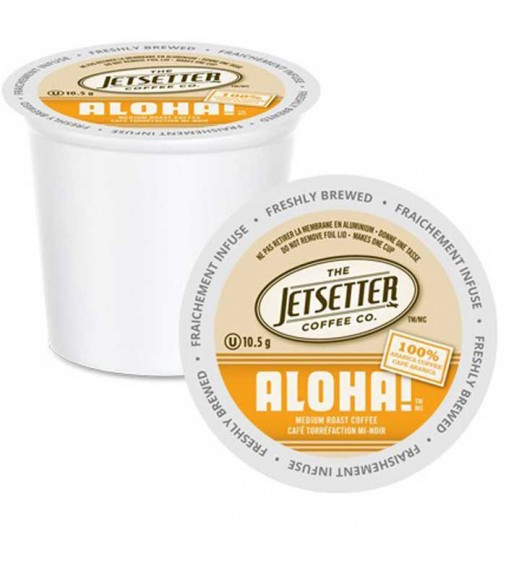 The Jetsetter Aloha, Single Serve Coffee