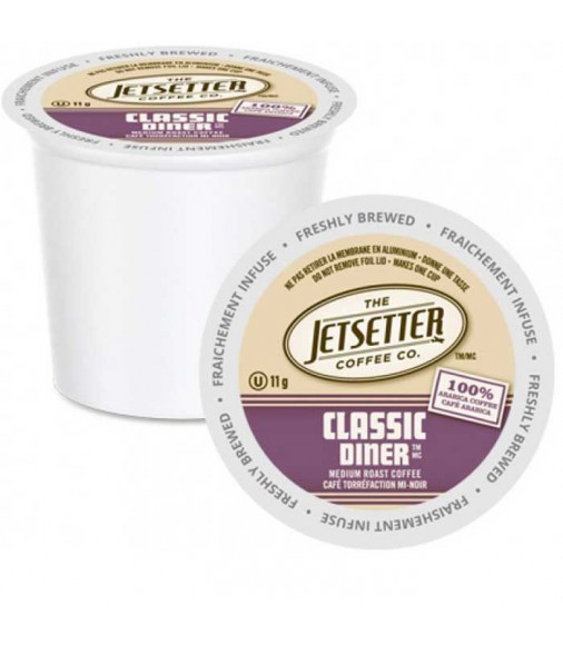 The Jetsetter Classic Diner, Single Serve Coffee