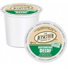 Jetsetter Destination Decaf, Single Serve Coffee