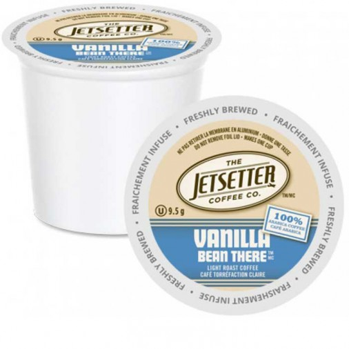 Jetsetter Vanilla Bean There, Single Serve Coffee