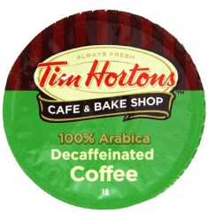 Tim Hortons Decaf, Single Serve Coffee