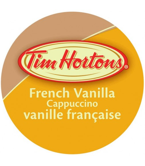 Tim Hortons French Vanilla Cappuccino, Single Serve Cups