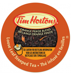 Tim Hortons Steeped Orange Pekoe Tea