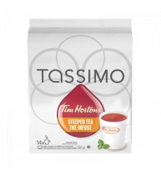 Tim Hortons Steeped Orange Pekoe Tea Tassimo T-Discs
