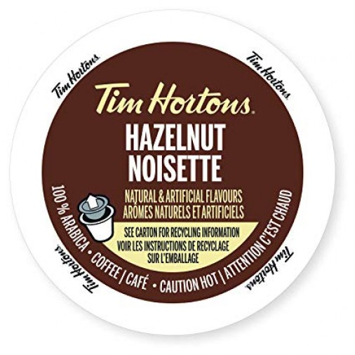 Tim Hortons Hazelnut 12, Single Serve Cups