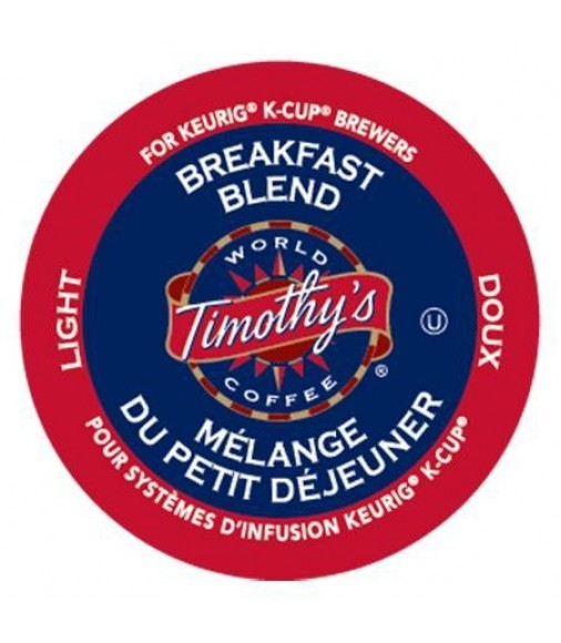 Timothy's Breakfast Blend, Single Serve Coffee