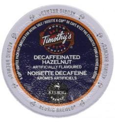 Timothy's Hazelnut Decaf Coffee