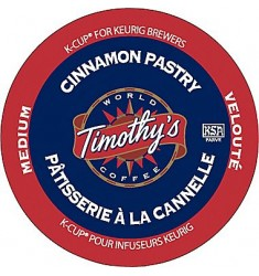 Timothy's Cinnamon Pastry Coffee