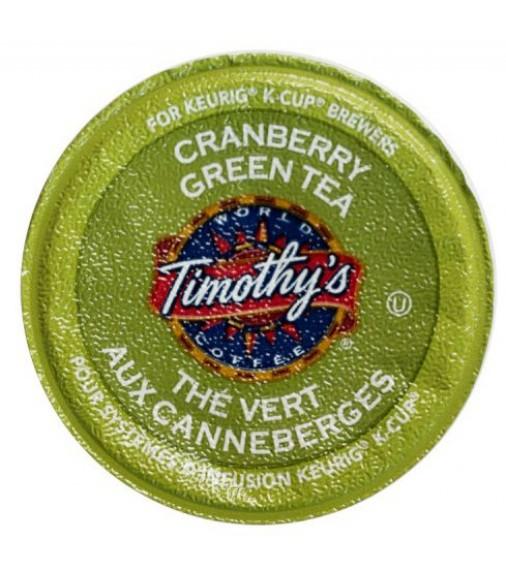 Timothy's Cranberry Twist Green Tea