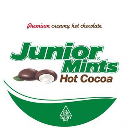 Junior Mints Hot Chocolate