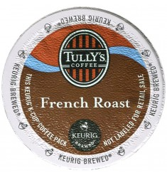 Tully's French Roast Extra Bold Coffee